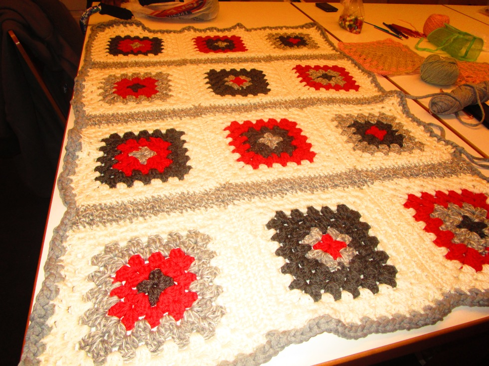American Homeless Veteran Project Granny Squares